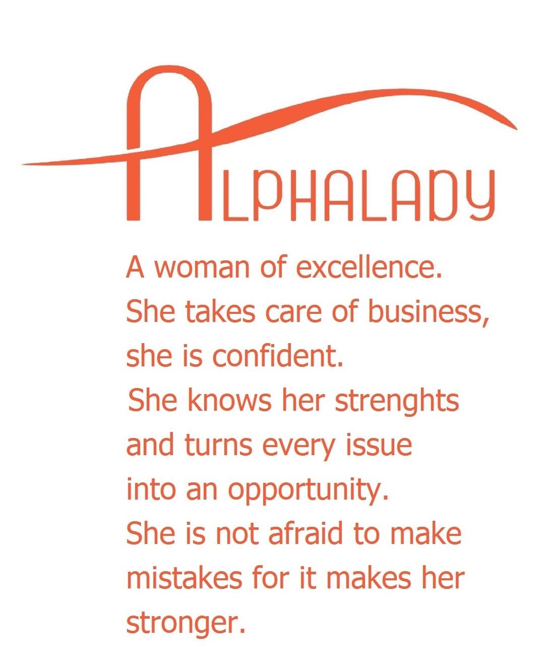 Motto Alphalady.nl -