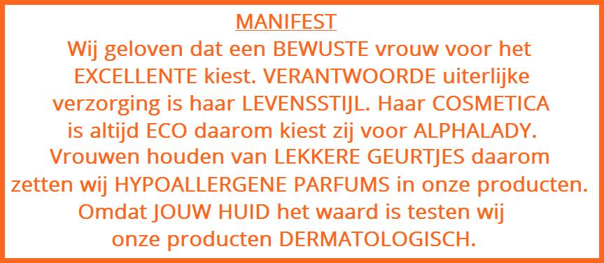 Manifest Alphalady Cosmetics